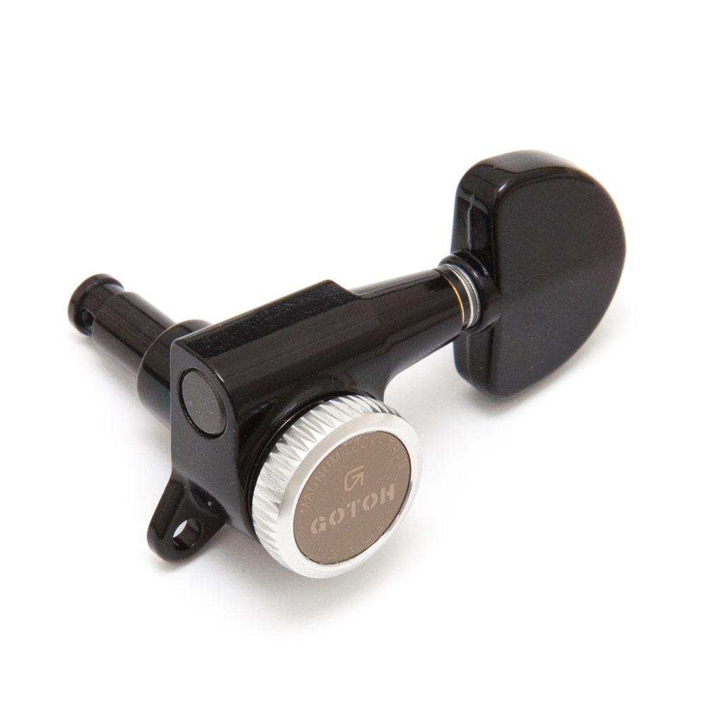 Gotoh SG381 Traditional Magnum Locking Tuners 3 x 3 (Black, 20)