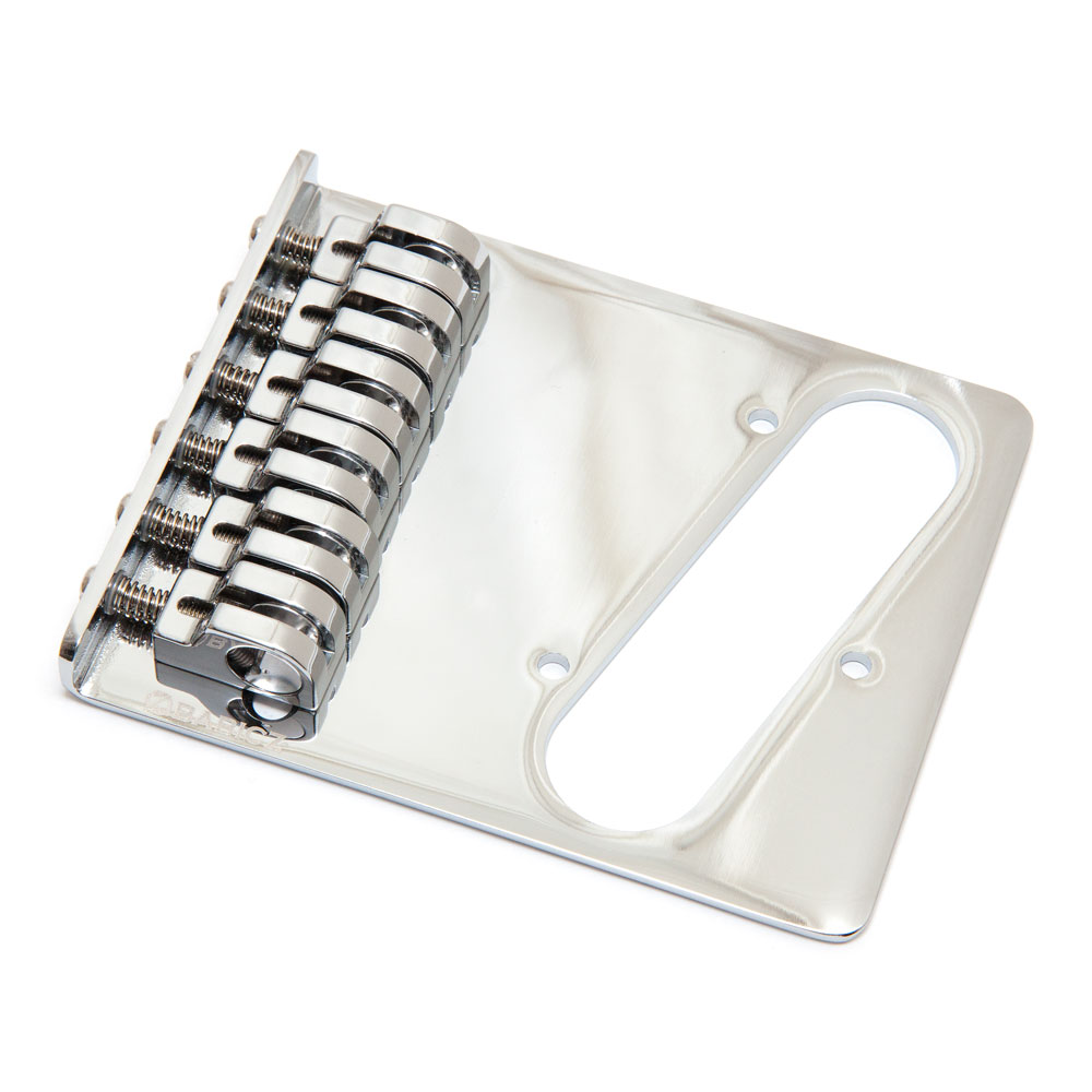 Babicz FCH Z Series Hardtail Telecaster Bridge (Chrome)