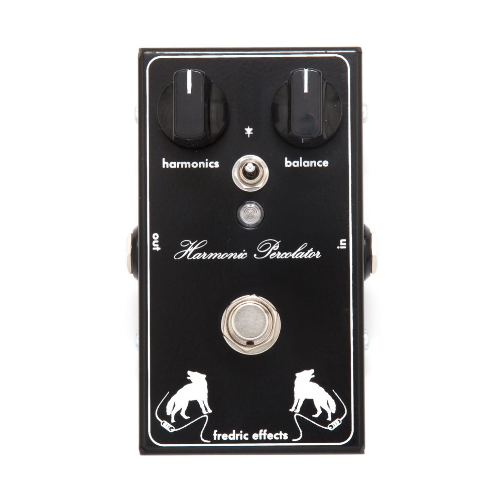 Fredric Effects Harmonic Percolator Fuzz Pedal
