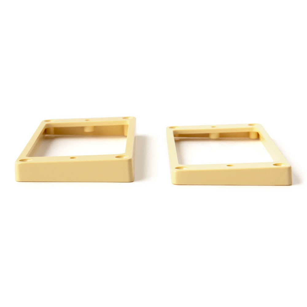 PRS SE Pickup Mounting Rings Angled/Slanted Set of 2 (Cream)