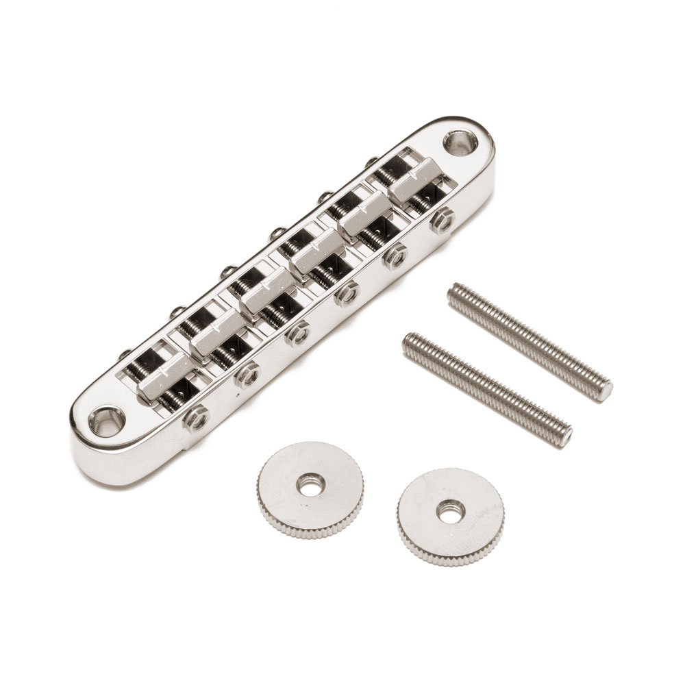 Gotoh GE103B Tune-o-matic Bridge (Nickel)
