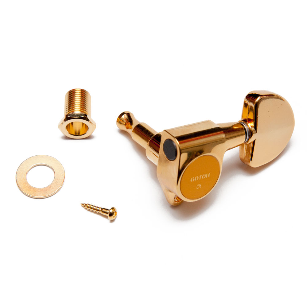 Gotoh SG301 Tuners 3 x 3 (Gold, 20)