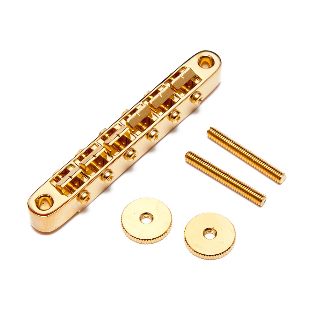 Gotoh GE104B Vintage ABR-1 Style Tune-o-matic Bridge (Gold)