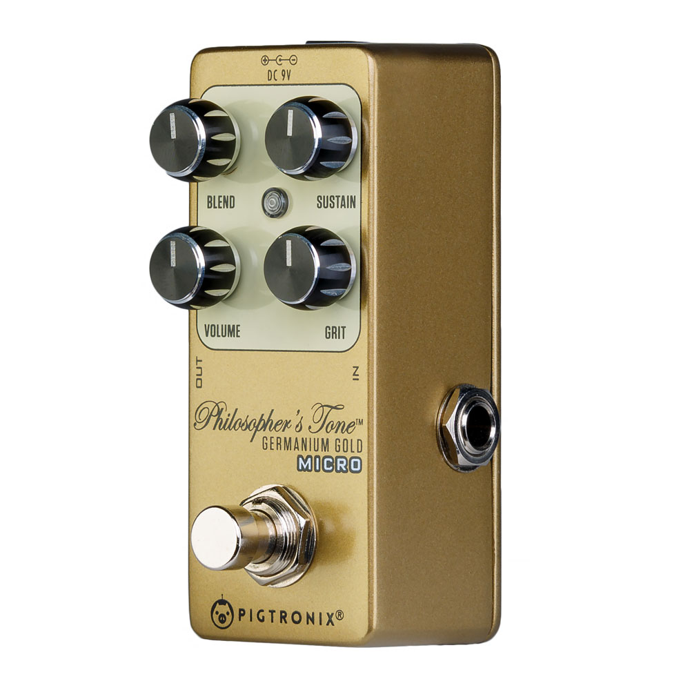 Pigtronix Philosopher's Tone Germanium Gold Micro Compressor Pedal
