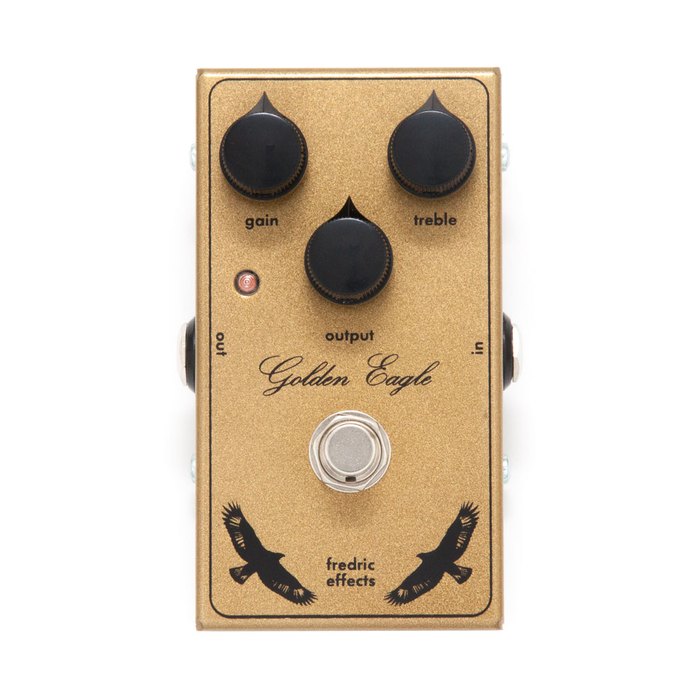 Fredric Effects Golden Eagle Overdrive Pedal