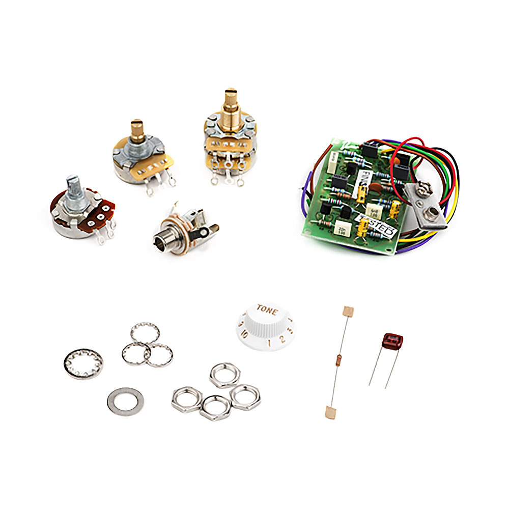 Fender Stratocaster Mid Boost and TBX Tone Control Pot Kit Eric Clapton mod
