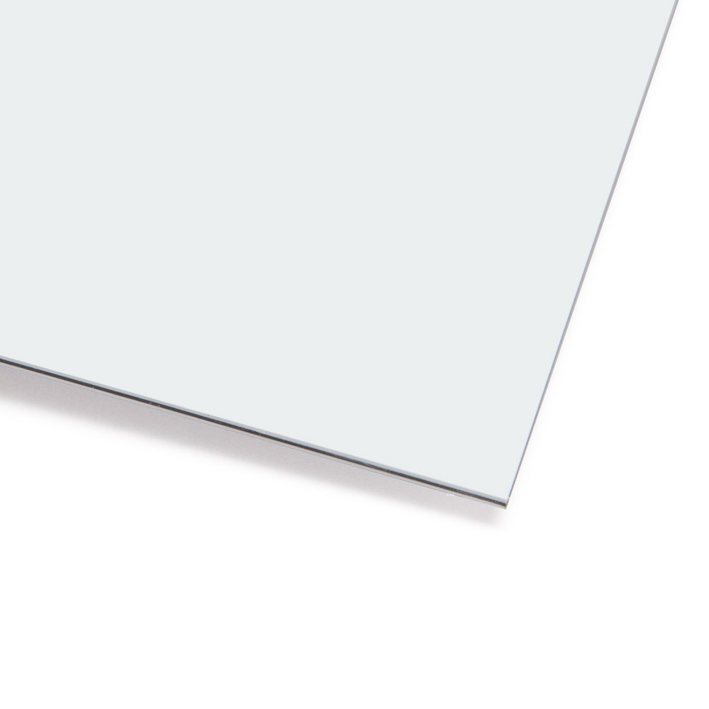 Boston Blank 3 Ply Scratchplate/Pickguard Sheet Material (White)