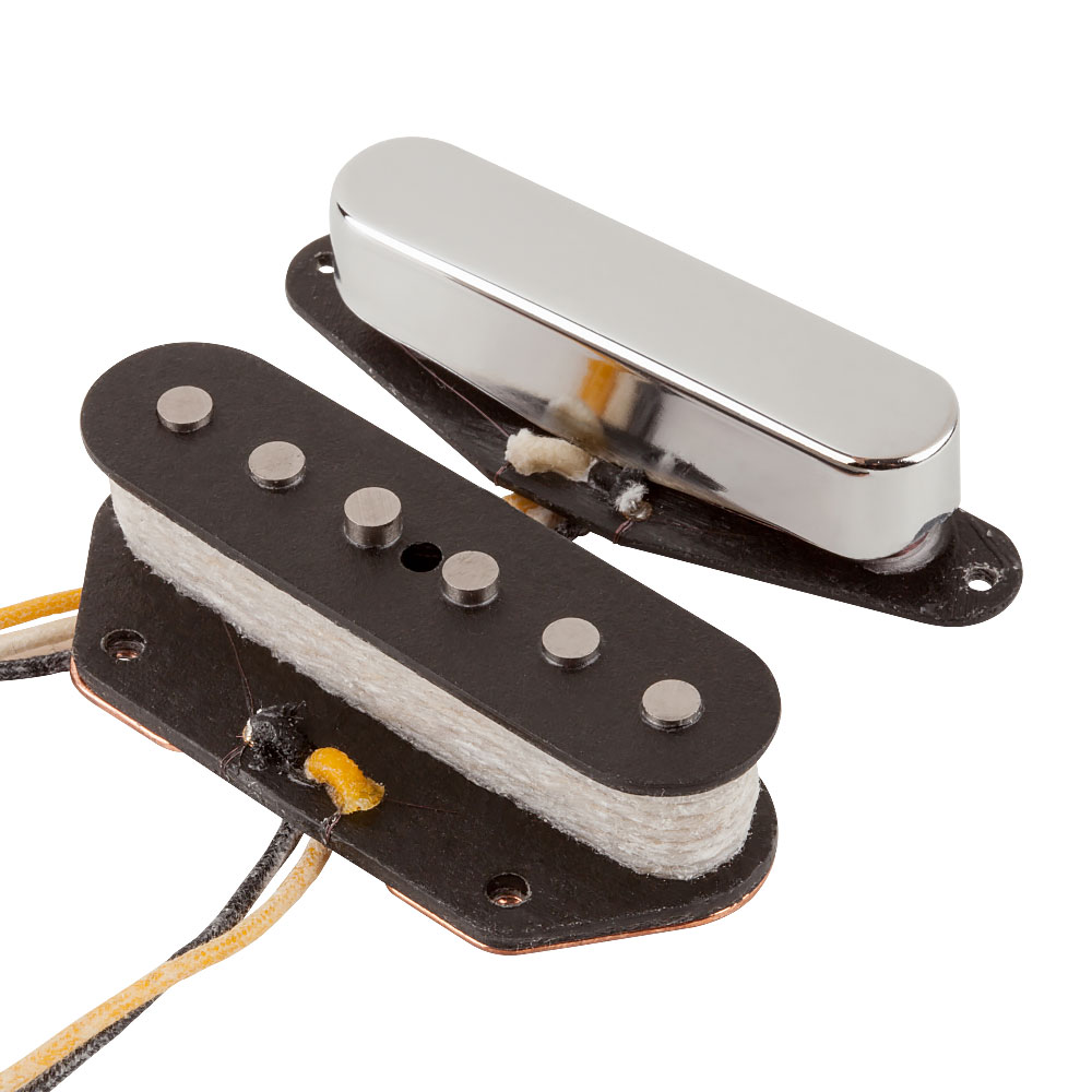 Fender Custom Shop Texas Special Tele/Telecaster Single Coil Pickups Set (Nickel)
