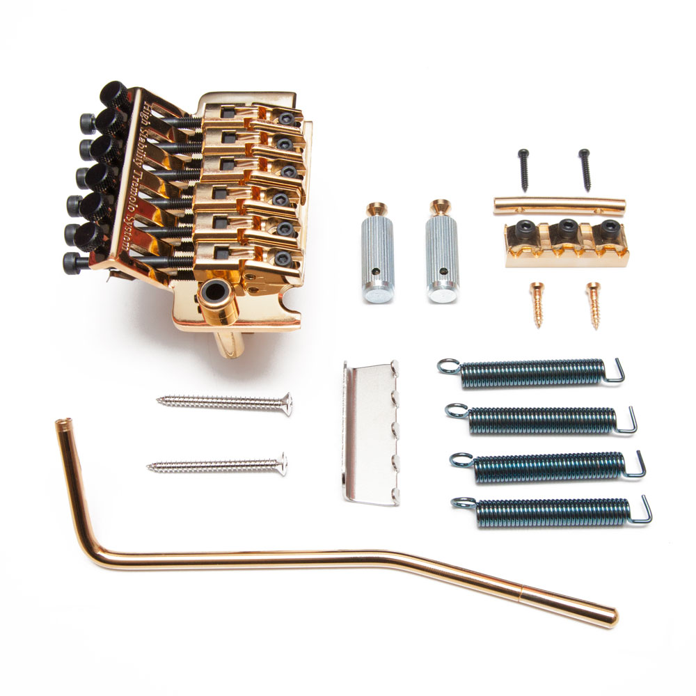 Gotoh GE1996T Double Locking Tremolo with GHL-2 Nut (33 mm, Gold)
