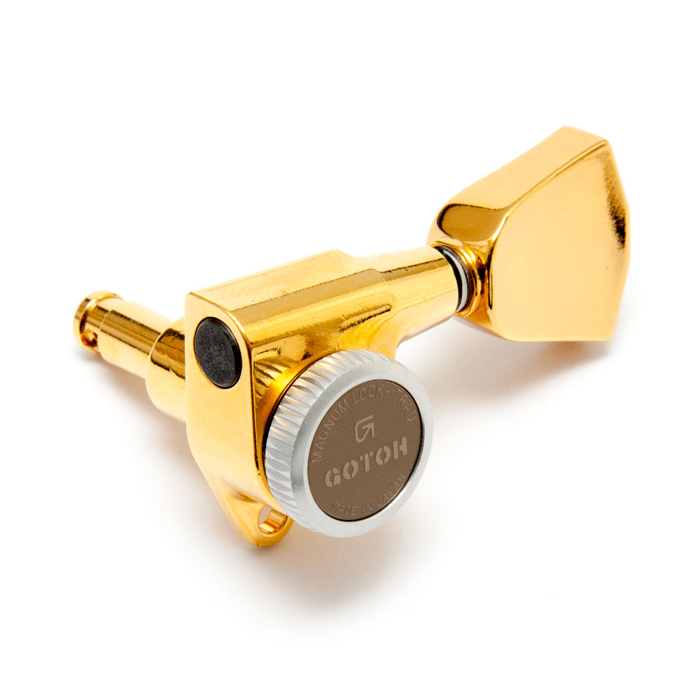 Gotoh SG301 Traditional Magnum Locking Tuners 3 x 3 (Gold, 04)