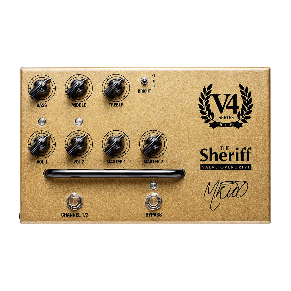 Victory Amplification V4 The Sheriff Overdrive Preamp Pedal