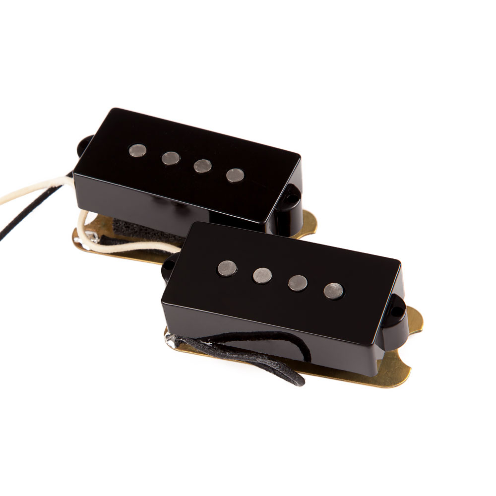 Fender Custom Shop '62 Precision Bass Pickup Set (Black)