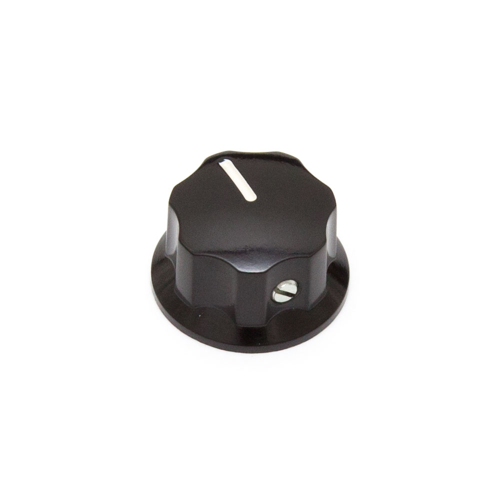 Hosco Fender Style Jazz Bass Control Knob with Set Screw (Small)