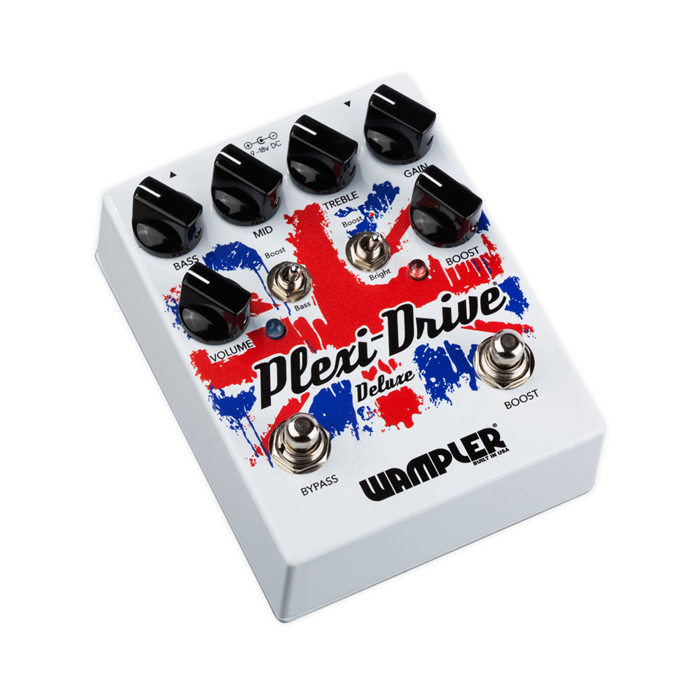 Wampler Plexi Drive Deluxe Overdrive Pedal