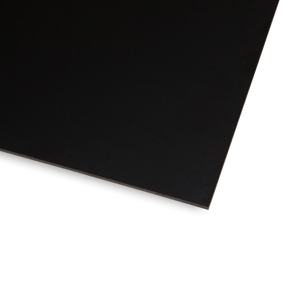 Boston Blank 1 Ply Scratchplate/Pickguard Sheet Material (Black)